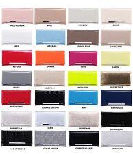 Clutch-Tasche Party Modische Clutch viele Farben  Lack Gesteppt   Handtasche