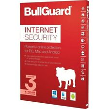 BullGuard Internet Security 2019 - 3 PC 1 Year - Serial code in email - No CD