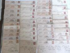 large lot  French text  postcards 1940 - 44     inc  vichy held prisoner of war