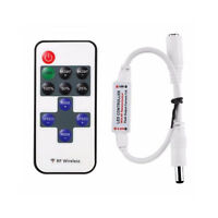 Mini LED Controller Dimmer+RF Wireless Remote Control 5050 3528 LED Strip AU