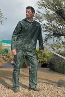 RESULT RE95A HEAVYWEIGHT WATERPROOF JACKET/TROUSER SUIT Size S-2XL