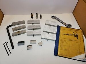 Lot Tri Tool 206B Bevelmaster Pipe Beveler Accessories, Tool Bits, Instructions