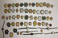 Lot of 61 SOVIET USSR  RUSSIAN Watches  For Service or parts RARE!