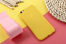 Colorful Candy Matte Soft Silicone Case TPU Cover Skin For Various Smart Phones