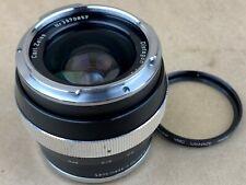 Carl Zeiss Contarex 25mm f/2.8 Distagon Black Lens - Rare !