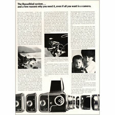 1967 Hasselblad: Even If All You Want Is a Camera Vintage Print Ad