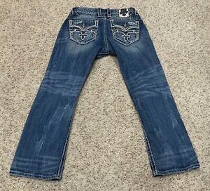 ROCK REVIVAL  Jeans 36 x 32 Warren straight MINT Condition