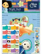 Paper Projects Moon and Me Height Chart with 12 height marker stickers