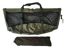MDI Carpa Deluxe Pieghevole galleggianti pesca carpa pesare Sling 123x60cm Carry Pouch e