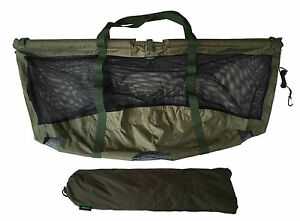 MDI Carp Deluxe Floating Folding Carp Fishing Weigh Sling 123x60cm Carry Pouch