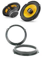 JL Audio C1-650x Front speaker upgrade for Ford Fiesta Mk7 front doors