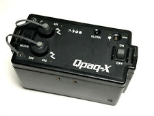 QUANTUM QPAQ-X POWER PACK + COMMAND MODULE + CARRY STRAP - USED