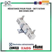 Résistance pour four Electrolux Faure Arthur Martin - 3871167049 800 ohms 20W