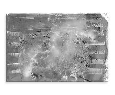 Leinwandbild abstrakt schwarz grau weiß Paul Sinus Abstrakt_821_120x80cm