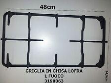 Griglia Ghisa Cucina Lofra 1 Fuoco 48x24,5cm codice articolo 3190063