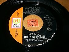 JAY AND THE AMERICANS - DO YOU EVER THINK OF ME - CAPTURE / LISTEN - SOUL BALLAD