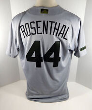 2017 St. Louis Cardinals Trevor Rosenthal #44 Game Used Grey Memorial Jersey