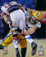 PACKERS Clay Matthews signed 8x10 NFC PLAYOFFS photo COA HOLO AUTO Autographed