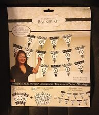 Personalized Banner Kit Birthday Wedding Anniversay Reunion Party Supply Favors