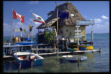 469060 ISLAND AVVENTURA AMBERGRIS Caye Belize A4 FOTO STAMPA