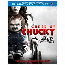 CURSE OF CHUCKY (Blu-ray/DVD, 2013, 2-Disc Set, Unrated) New / Factory Sealed