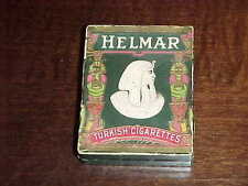 1910 Helmar Cigarettee Box with  T-107 Coat of Arms Greece Card