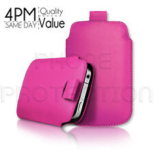 Premium PU Leather Pull Tab Pouch Case Cover For Various Acer Phones