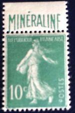 France N° 188A 10 C Vert Mineraline Neuf **TB Qualité Et Centrage Côté 725€ + 40