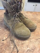 Hot Weather Army Combat Boots Coyote SPE1C1-17-D-1004 Size 5.5W Free Shipping