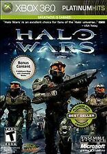 Halo Wars - Platinum Hits (Microsoft Xbox 360, 2010)