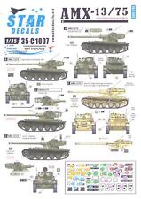 Star Decals 1/35 French AMX-13/75 Cold War Markings