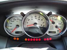 anelli strumentazione Porsche 911  996 Boxster 986 cromo