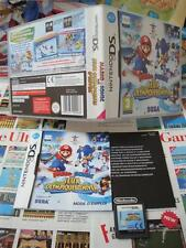 Nintendo DS:Mario & Sonic - aux Jeux Olympiques d'Hiver [TOP] COMPLET - Fr
