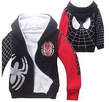Felpa imbottita winter hoodie Spiderman
