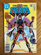 New Teen Titans 22 1st Brother Blood DC Comics Newsstand Variant NM Condition