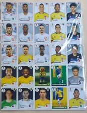 Panini World Cup 2018 Russia Sealed Update Set with 100 Stickers Brazil Version