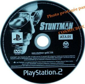 STUNTMAN - jeu en loose console sony PS2 PlayStation 2 pal testé