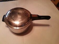 Revere Ware - Stainless Copper Pressure Cooker 4 QT made in rome ny