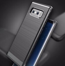 For Samsung Galaxy Note 8 - SLIM FIT HARD TPU RUBBER GUMMY SKIN CASE COVER BLACK