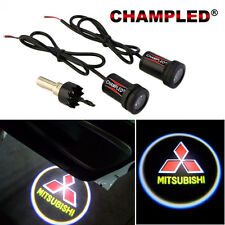 CHAMPLED for MITSUBISHI LED Door Projector Logo Shadow Car Tuning lights emblem