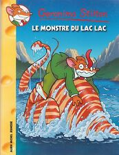 GERONIMO STILTON N°66 Le monstre du lac lac
