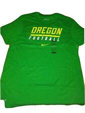 Nike Dri-fit Oregon Ducks Football T-shirt Large MSRP $30
