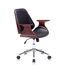 Silla retro giratorio cuero artificial Clásico Oficina taburete Diseño My Sit