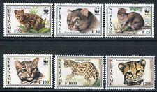 SURINAM 1995 Wildkatzen Ozelot Wild Cats WWF 1514-1419 ** MNH