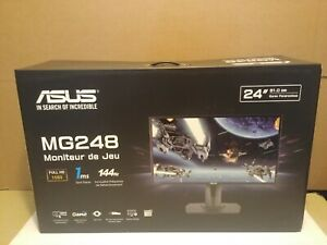 "Asus MG248QR 24"" 1080HD 1ms Trace Free 144Hz Rapid Refresh Gaming Monitor Black"
