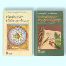 Hildegard von Bingen - Handbuch und Küchengeheimnisse 2 Bücher