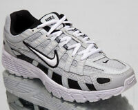 Nike P-6000 Men's Pure Platinum White Black Low Lifestyle Sneakers Shoes