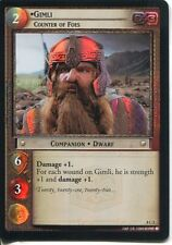 Lord Of The Rings CCG Foil Card SoG 8.C5 Gimli, Counter Of Foes