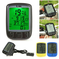 Bicycle Computer Accessories Wireless Bike Cycling Odometer Speedometer