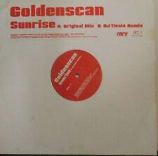 "GOLDENSCAN ~ Sunrise ~ 12"" Single PS - PROMO"
